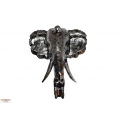 **Máscara Elefante Plateada...