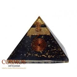 "**Pirámide 3"" Turmalina..."