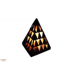 **Lámpara Sal Pirámide...