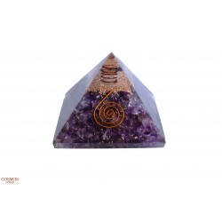 "**Pirámide 3"" Amatista..."