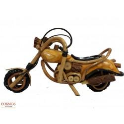 **Moto Chopper de madera...