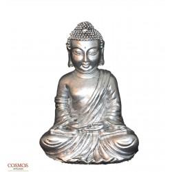 **Buda Thai Plateado 15cm