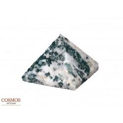 **Pirámide Ágata Verde 35mm...