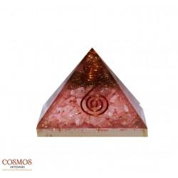 """**Pirámide 3"""" Cuarzo Rosa..."""