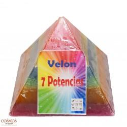 **Velón Pirámide 7...