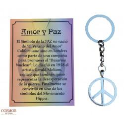 **Llavero Amor y Paz...