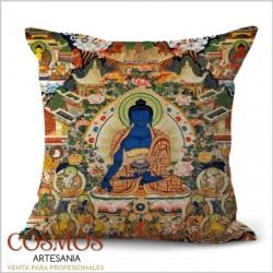 **Funda cojín Budas paisaje...