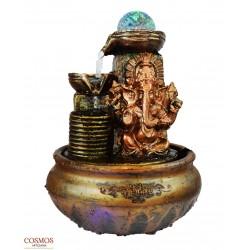 **Fuente Ganesha Bronce con...