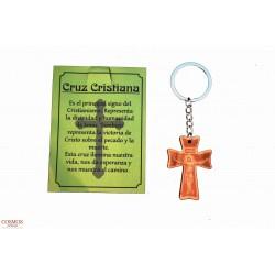 **Llavero Cruz Cristiana...