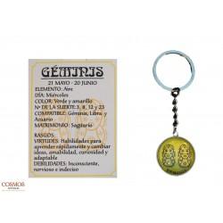 **Llavero Géminis Amuleto...