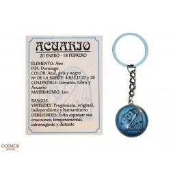 **Llavero Acuario Amuleto...