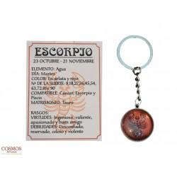 **Llavero Escorpio Amuleto...