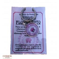 **Llavero Mandala Flor de...