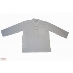 **Camisa manga larga Blanca...