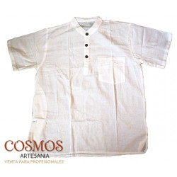 **Camisa manga corta Blanca...