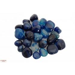 **Ónix azul piedra mineral...