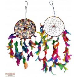 **Atrapasueños multicolor...