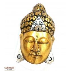 **Máscara Buda Thai Madera...