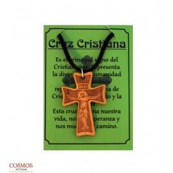 **Collar Cruz Cristiana...