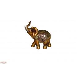 **Elefante 16cm Dorado de...