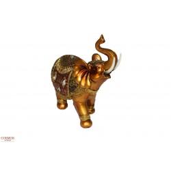 **Elefante 20cm Dorado de...