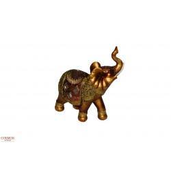**Elefante 18cm Dorado de...