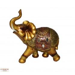 **Elefante 23cm Dorado de...