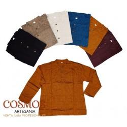 **Camisa manga larga color...