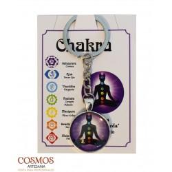 **Llavero Mandala 7 Chakras...