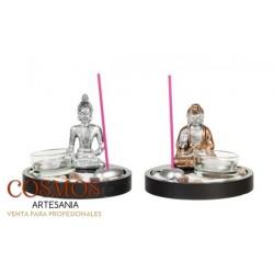 **Portavelas con Buda en...