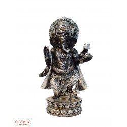 **Ganesha negra y plateada...