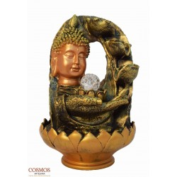 **Fuente Busto Buda mano...
