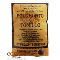 **Palo Santo y Tomillo...