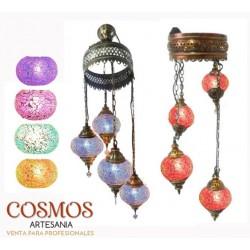 **Lámpara turca mosaico de...