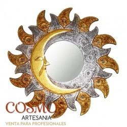 **Espejo Sol y Luna Ø 60cm