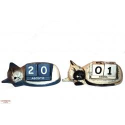 **Calendario Gato Dormido...
