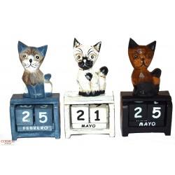 **Calendario Artesanal Gato...