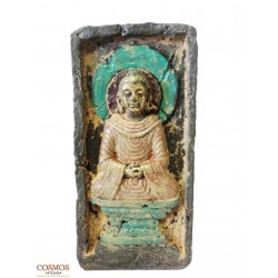 **Portavela Buda Tallado