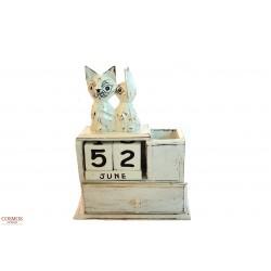 **Calendario pareja gatos...