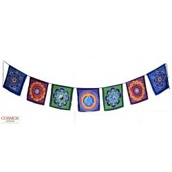 **Bandera tibetana cuadrada