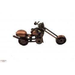 **F0131B-1Moto Metalica...