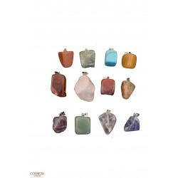 **Caja 12 Colgantes Piedras...