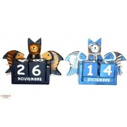 **Calendario Gatos y Peces...