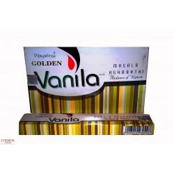 **Caja Varas golden vanila...