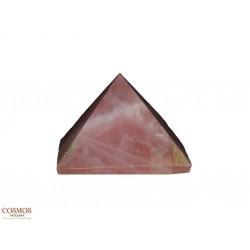 **Pirámide Cuarzo Rosa 25mm...