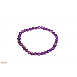 **Pulsera 6mm Amatista Mineral
