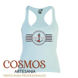 **A-23 Camiseta Mujer Ancla...