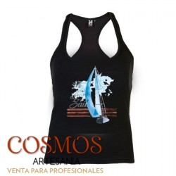 **A-46 Camiseta Mujer Barco...
