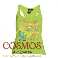 **A-49 Camiseta Mujer Surf...