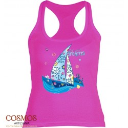 **A-50 Camiseta Mujer Barco...